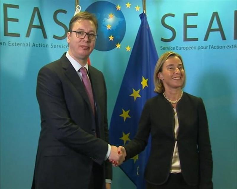 Federica Mogherini a nyugat-balkáni országok miniszterelnökeivel tanácskozott