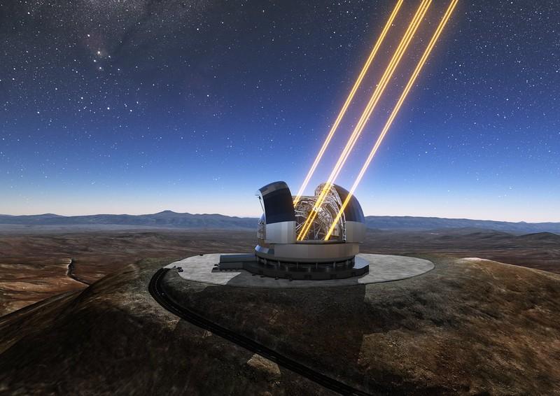 Óriásteleszkópot építenek Chilében