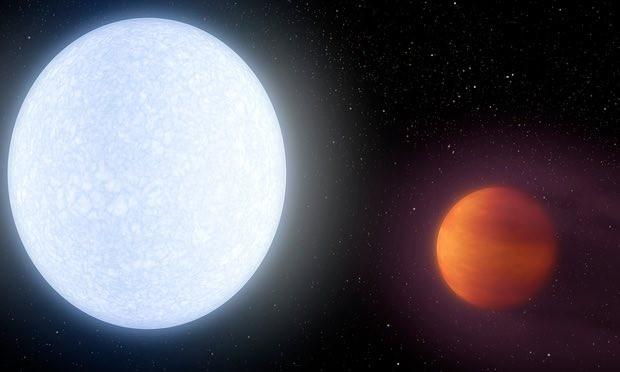A Naphoz hasonlóan forró bolygóra bukkantak