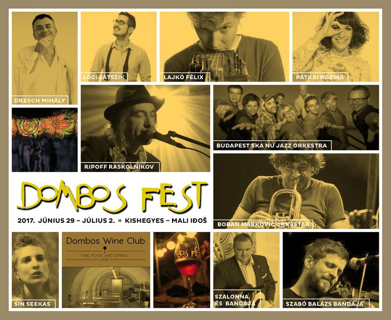 """Két hét múlva kezdődik a Dombos Fest:  """"az életöröm nem tabu, hanem ráadás"""""""