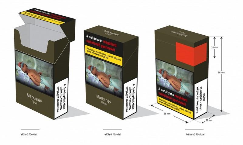 Magyarország: Megjelentek a trafikokban az egységes csomagolású cigaretták