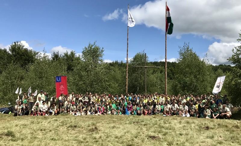 Erzsébet-tábor Kárpátalján: Cserkészek jubileumi nagytábora