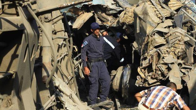 Az előzetes becsléseknél jóval többen haltak meg az alexandriai vonatbalestben
