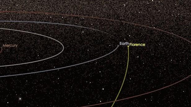 Biztonságos távolságban halad el mellettünk egy aszteroida