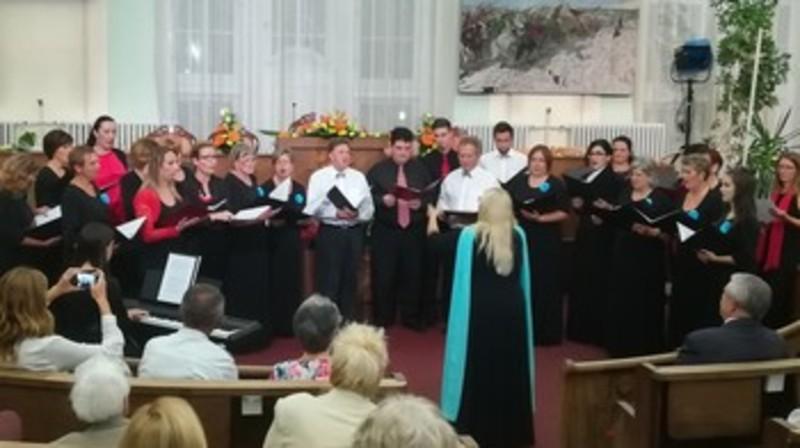 Kóruszenei est és díjátadó a városnapi ünnepségek keretében