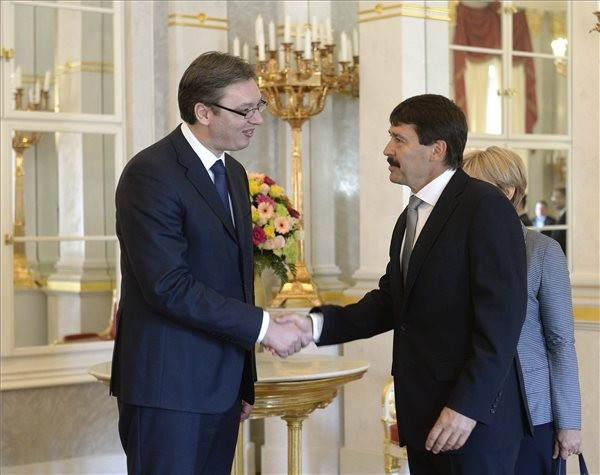 Magyar-szerb államfői találkozók
