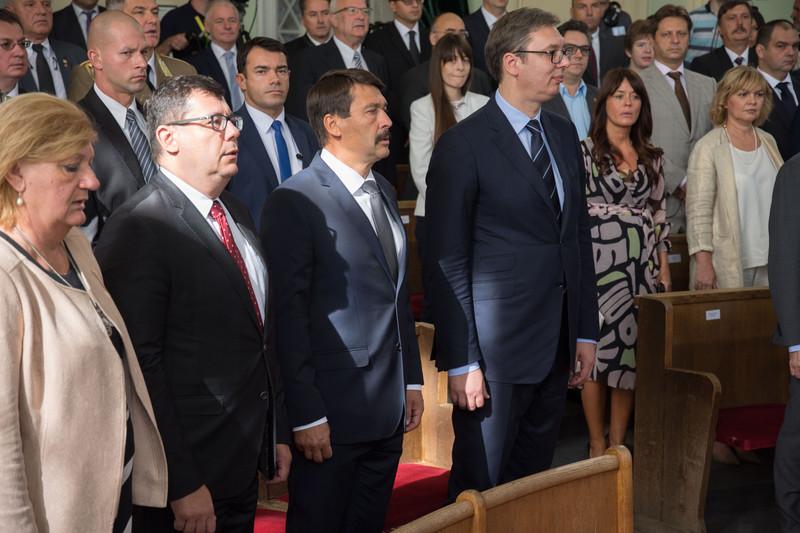 Zenta: Városnapi díszülés a magyar és a szerb államfő részvételével
