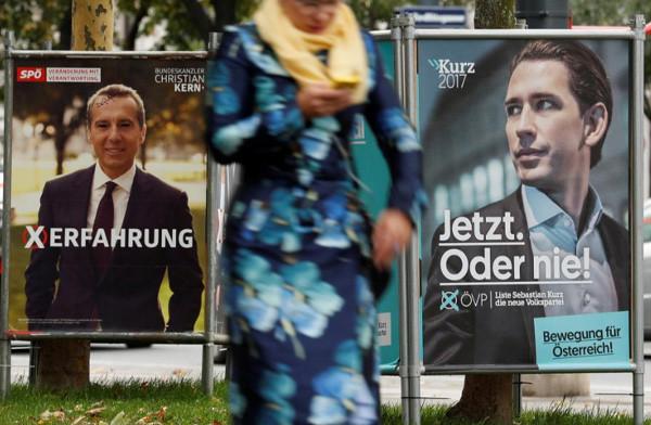 A menekültügy az osztrák választások központi kampánytémája