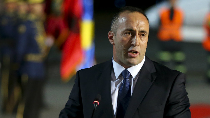 Ramush Haradinaj koszovói kormányfő