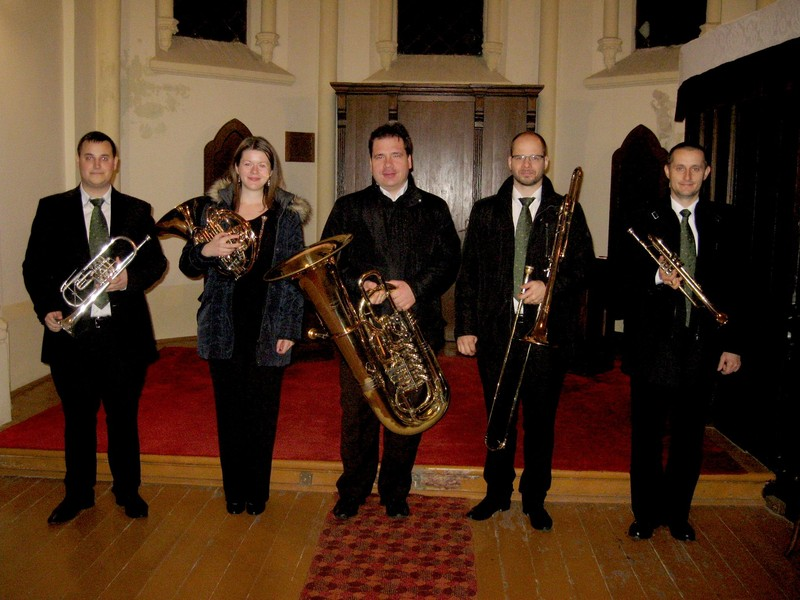 Nagybecskereken koncertezett a budapesti Cantores Ecclesiae Rézfúvós Együttes