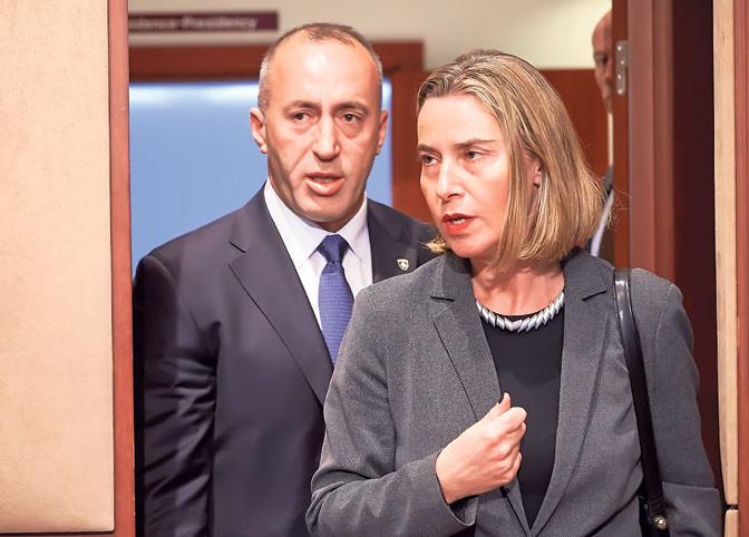 Brüsszeli cáfolat: Mogherini nem hagyta el a tárgyalás helyszínét
