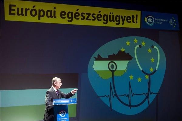 A DK választási programbemutatója: Elszámoltatást, nyugdíjkorrekciót, szabad iskolákat ígért Gyurcsány Ferenc