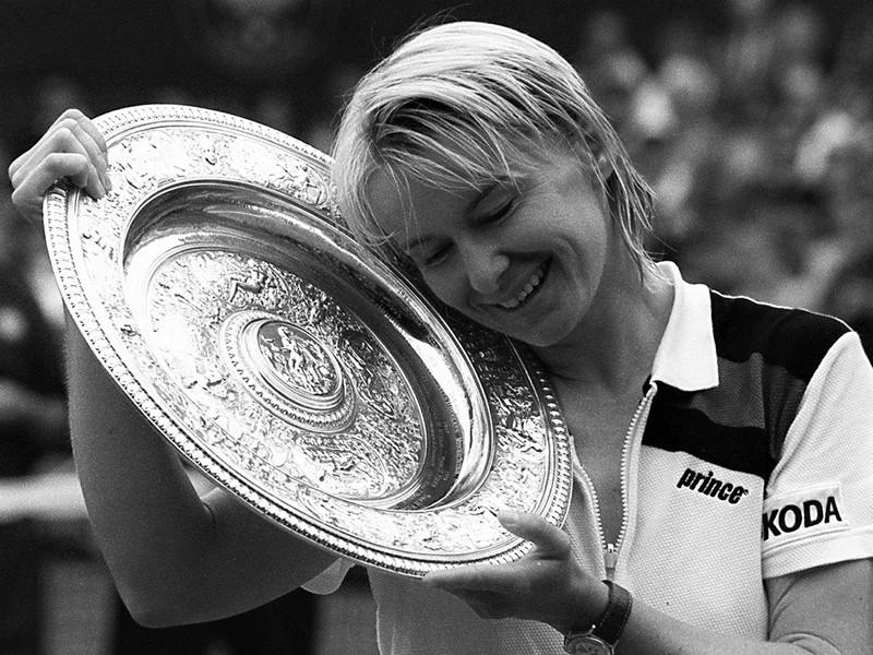 TENISZ: Elhunyt Jana Novotná, egykori wimbledoni bajnok