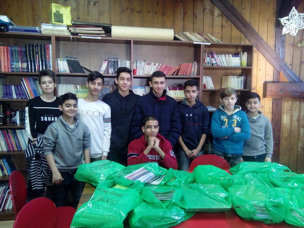 Szabadka: Tankönyvtámogatás a roma származású gyermekek részére
