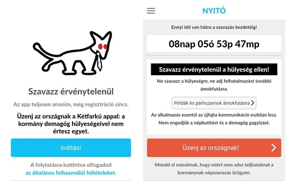 A Kétfarkú Kutya Párt javára döntött a strasbourgi Emberi Jogok Európai Bírósága