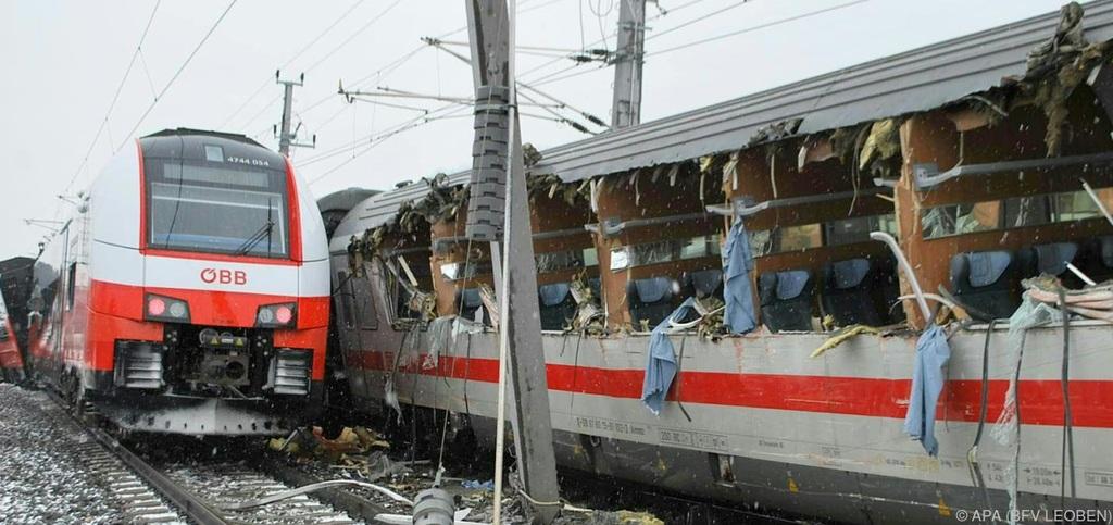 Vonatbaleset Ausztriában, egy ember meghalt