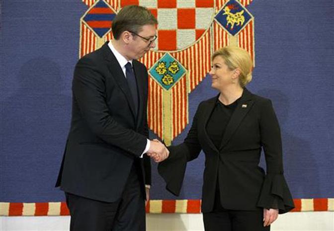 Szerb-horvát államfői találkozó: A feszültségek csökkentését fog dolgozni mindkét fél