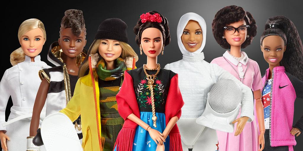 Történelmi és kortárs hírességek ihlették a nőnapi új Barbie babákat