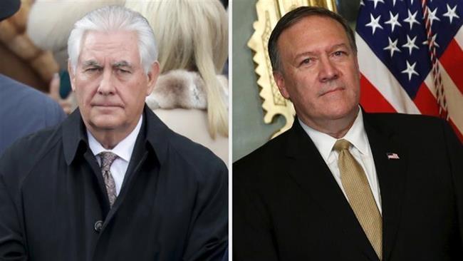 Donald Trump amerikai elnök menesztette Rex Tillerson külügyminisztert