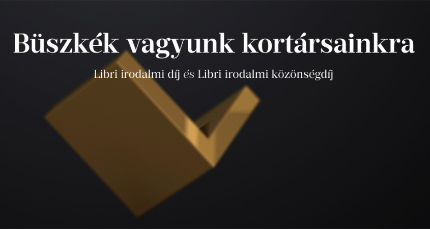 Március 20-tól lehet szavazni a Libri irodalmi közönségdíjasára