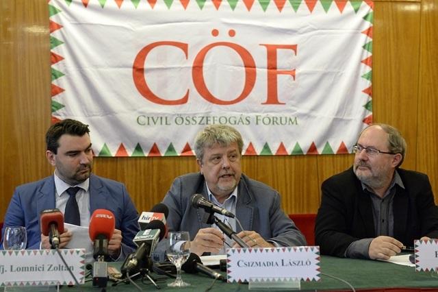 Március 15.: A CÖF szerint a Békemenet kiállás Magyarország mellett