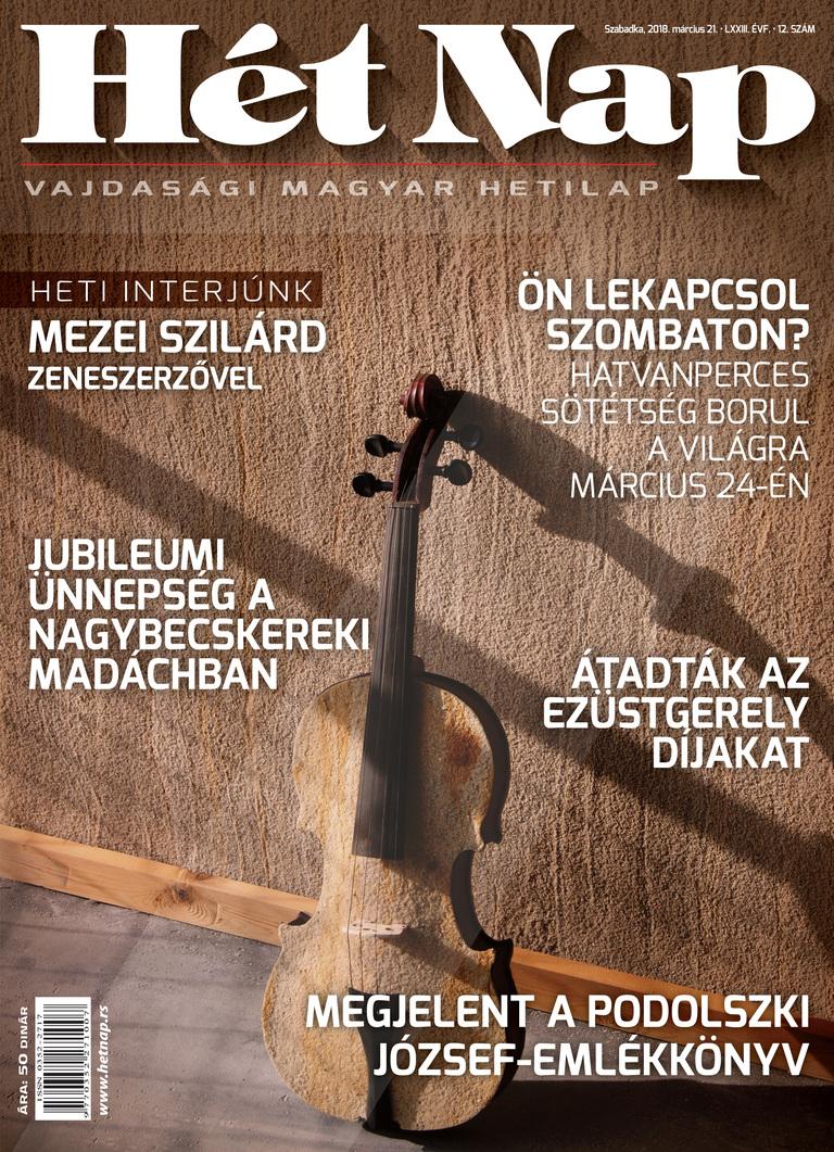 Hét Nap (március 21.): Az improvizatív zenében nem lehet hazudni - Beszélgetés Mezei Szilárd zeneszerzővel